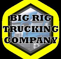 Big Rig Trucking Company Austin Logo